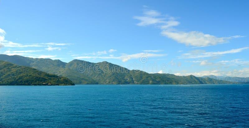 Caraïbische landschappen stock afbeeldingen