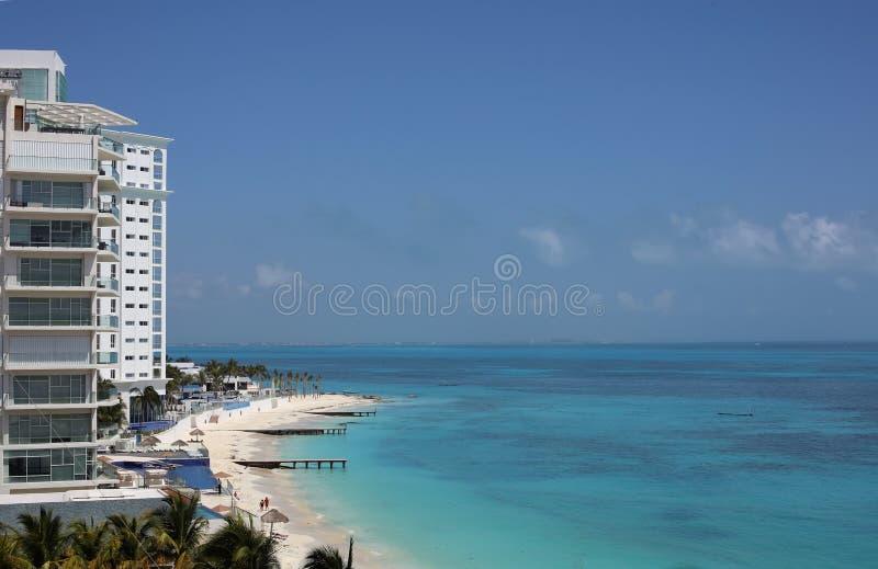Caraïbische oceaanmening stock afbeeldingen