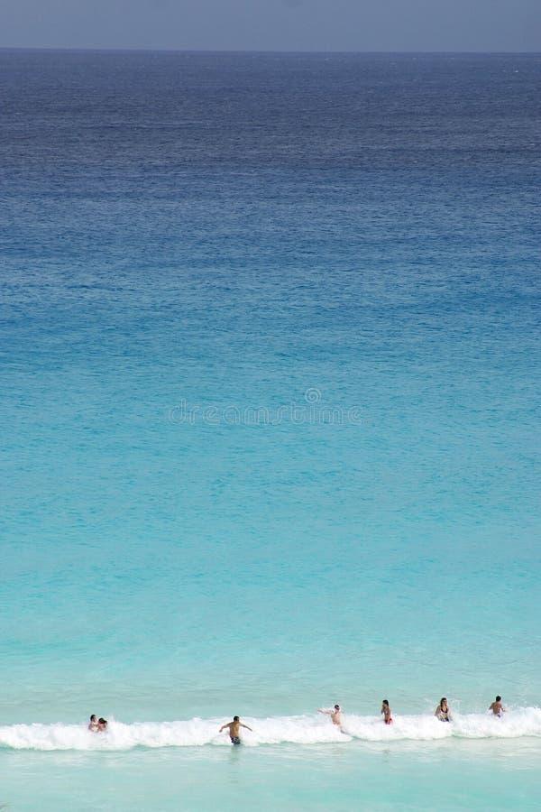 Caraïbische overzees stock fotografie