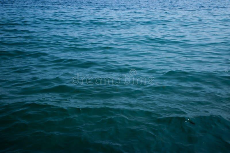 Caraïbische overzees en perfecte hemel stock afbeelding