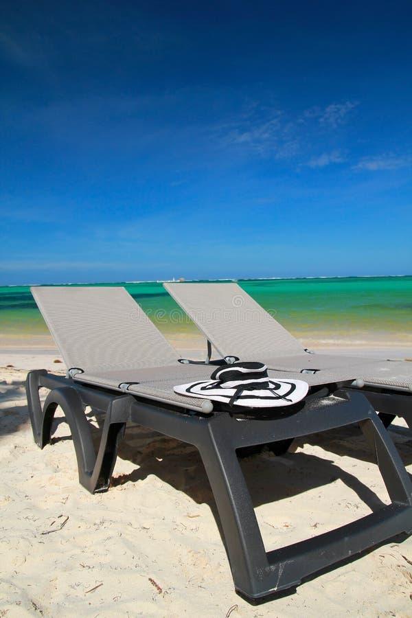 Caraïbische paradijsvakantie stock foto