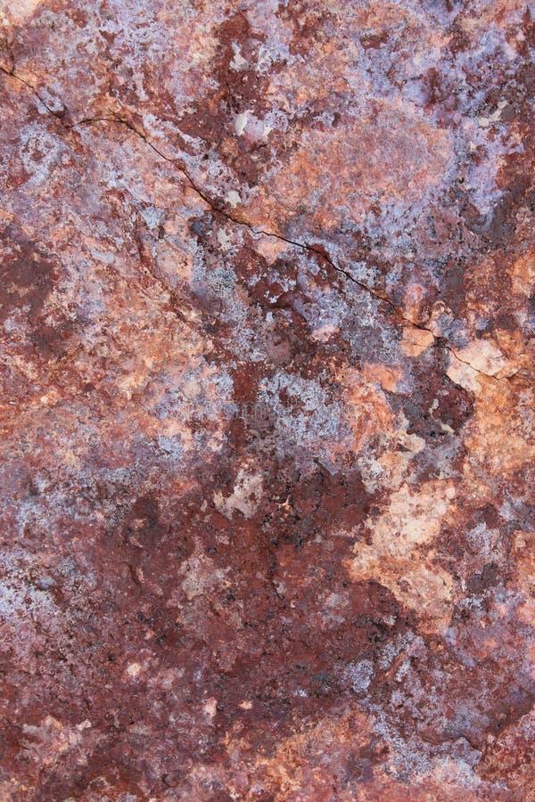 Cara abigarrada de la roca fotografía de archivo libre de regalías
