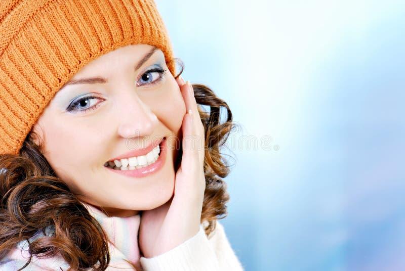 Cara adolescente de la elegancia imagen de archivo libre de regalías