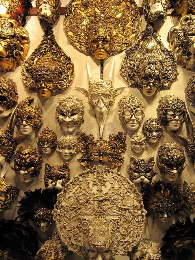 Cara da arte da máscara fotos de stock