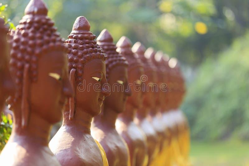 Cara da Buda fotografia de stock