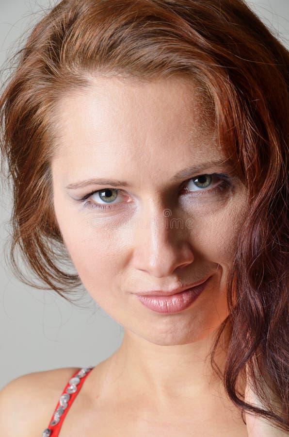 Cara da jovem mulher foto de stock royalty free