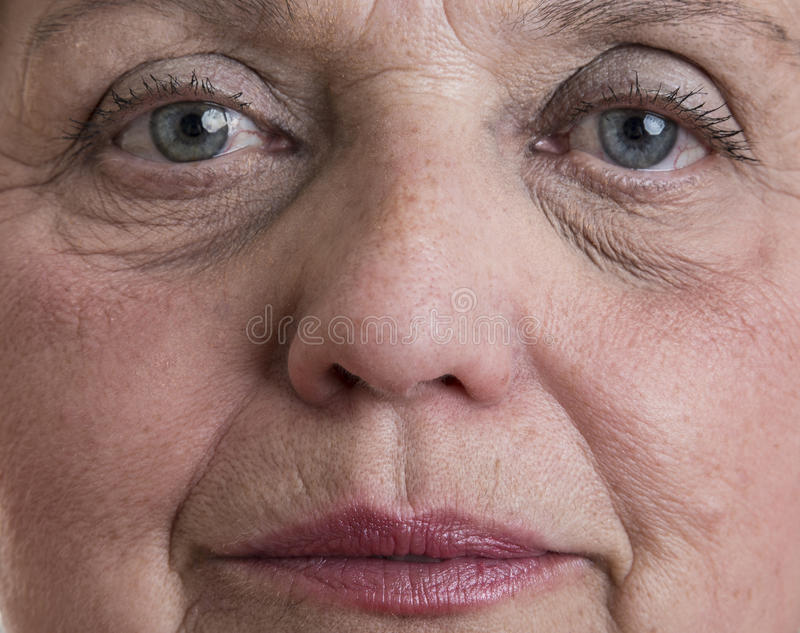 Cara da mulher adulta foto de stock royalty free