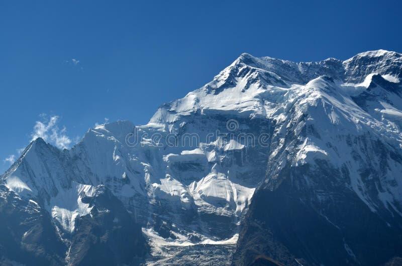 Cara de Annapurna foto de archivo