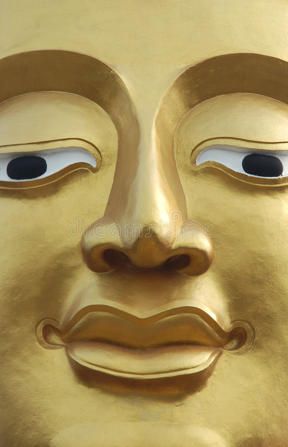 Cara de Buddha imagen de archivo