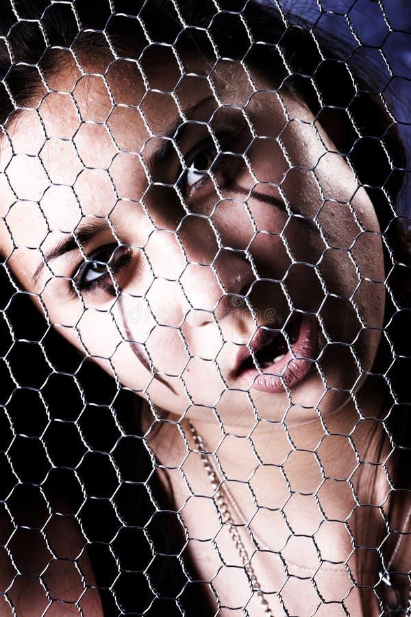 Cara de Goth imagen de archivo libre de regalías