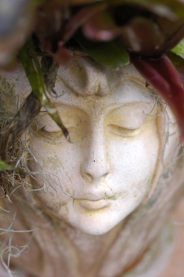 Download Cara De La Estatua De La Mujer Foto de archivo - Imagen de outdoors, parque: 183404