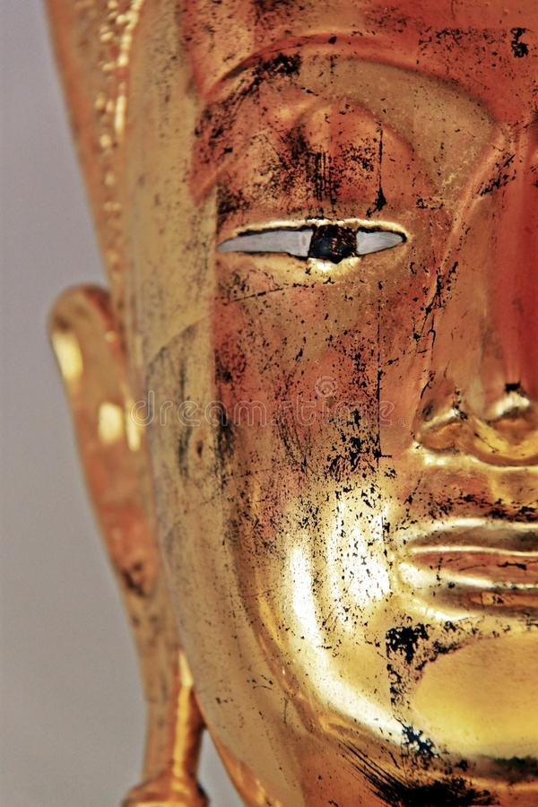 Cara de la imagen de Buddha imagen de archivo