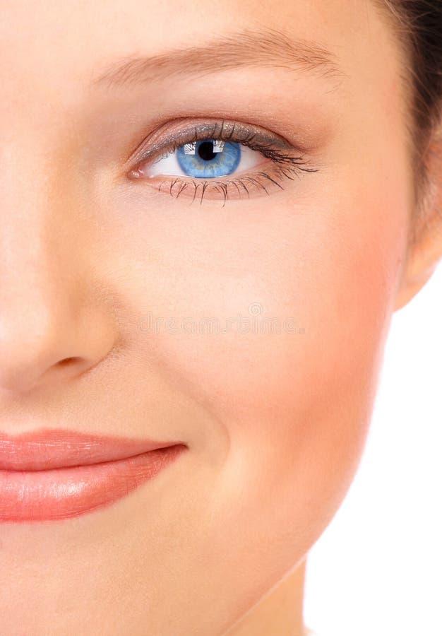 Cara de la mujer imagen de archivo