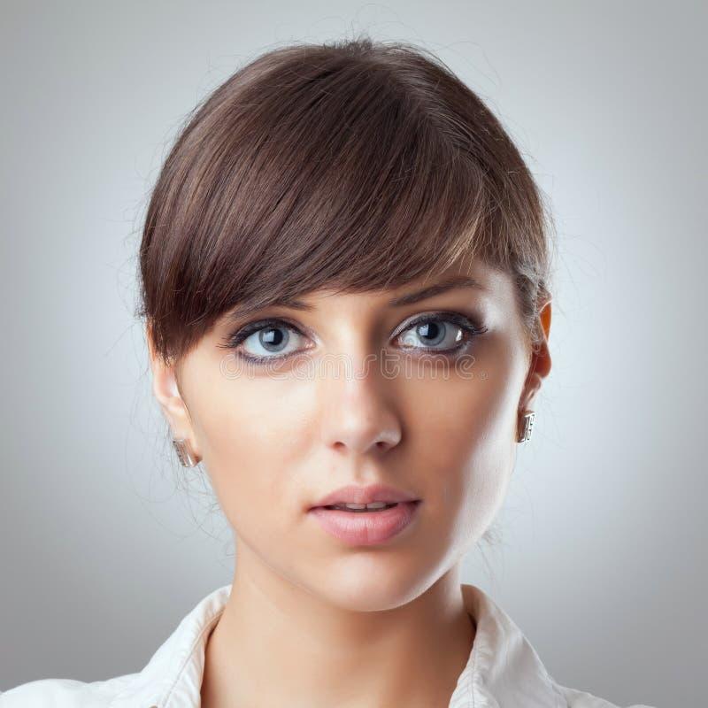 Cara de la mujer de negocios imagen de archivo libre de regalías