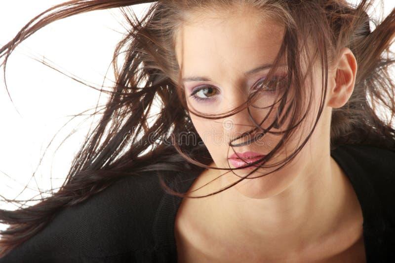 Cara de la mujer hermosa imagen de archivo libre de regalías