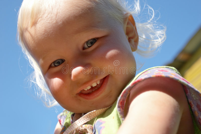 Cara de la niñez fotos de archivo libres de regalías