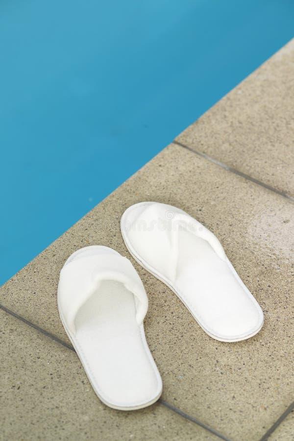 Cara de la piscina imagen de archivo