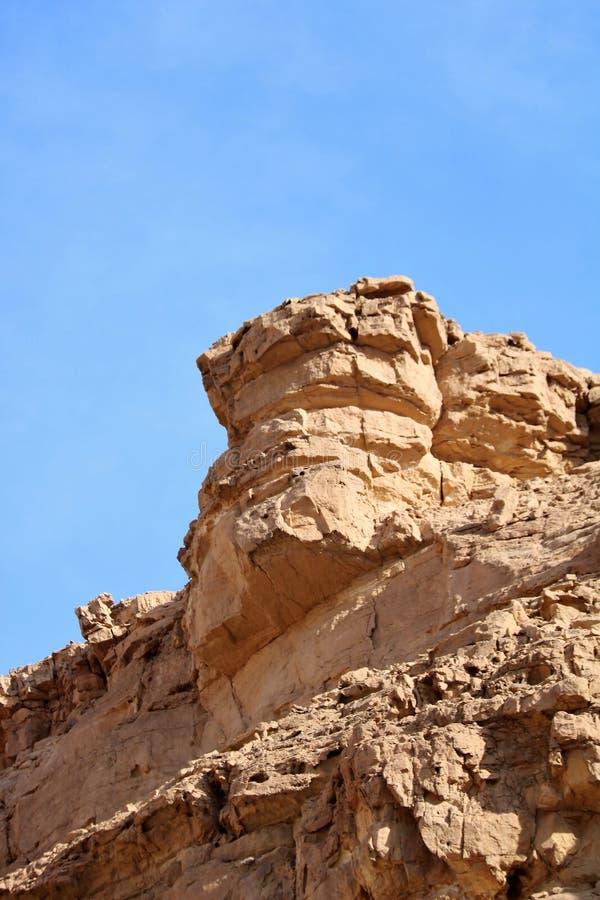 Cara de la roca imagenes de archivo