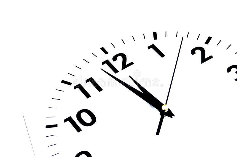Cara de reloj imagenes de archivo