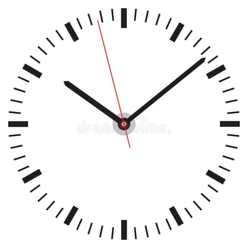 Cara de reloj libre illustration