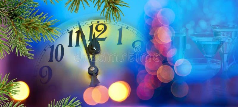Cara de reloj con las agujas imagen de archivo libre de regalías