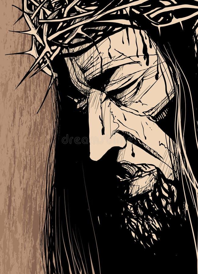 Cara de s de Cristo ' libre illustration