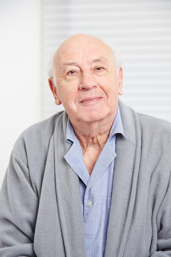 Cara de um ancião fotos de stock royalty free