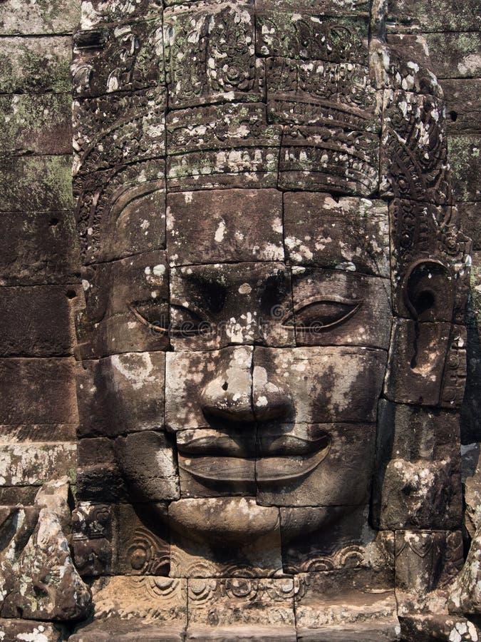 Cara del Bodhisattva Loki State Ice King imagen de archivo