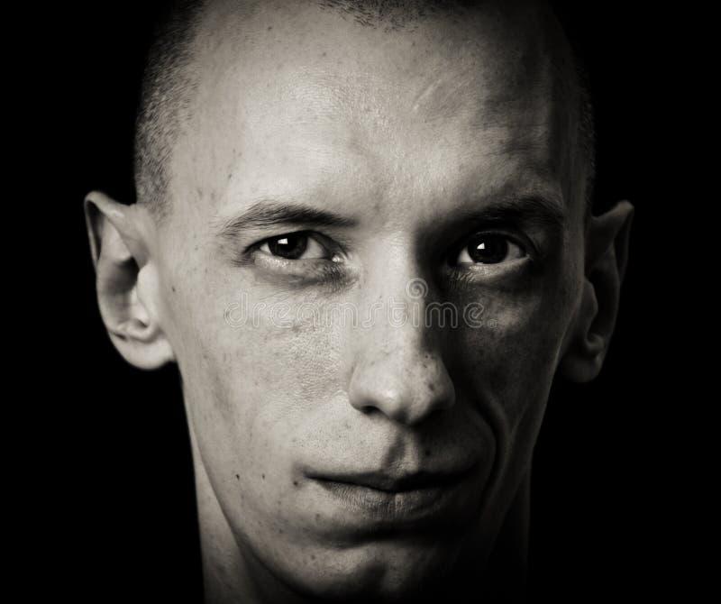 Cara del hombre. fotografía de archivo libre de regalías