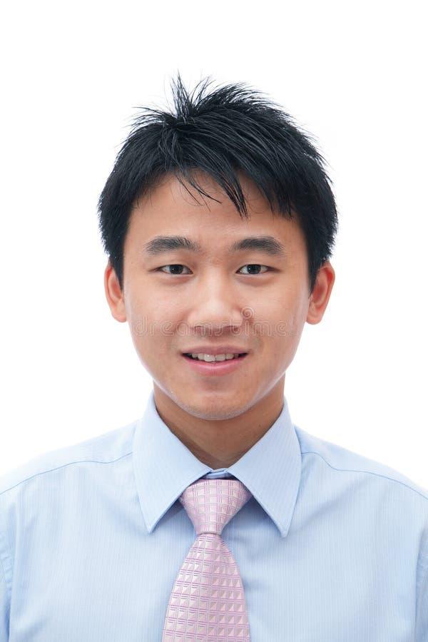 Cara del hombre de negocios asiático imagenes de archivo
