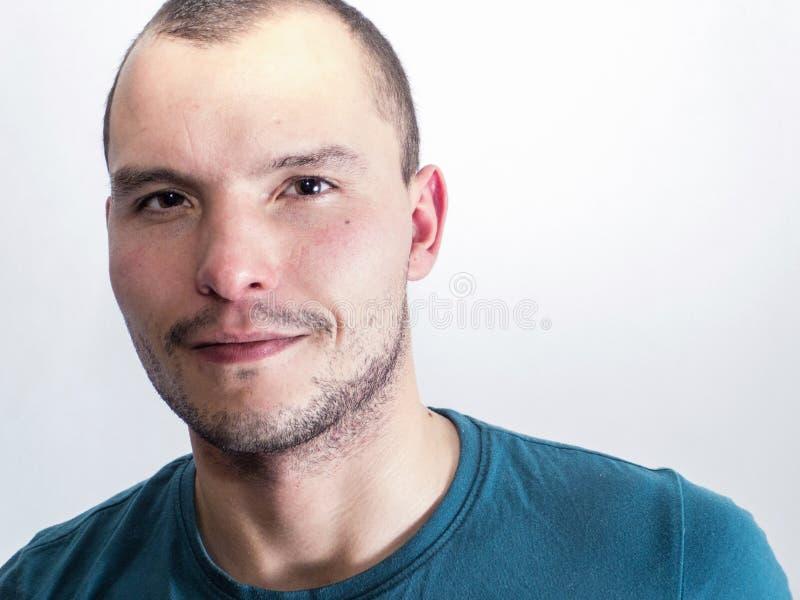 Cara del hombre joven imagenes de archivo