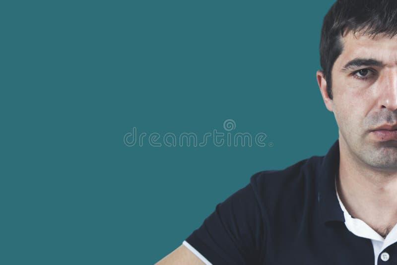 Cara del hombre joven imagen de archivo libre de regalías
