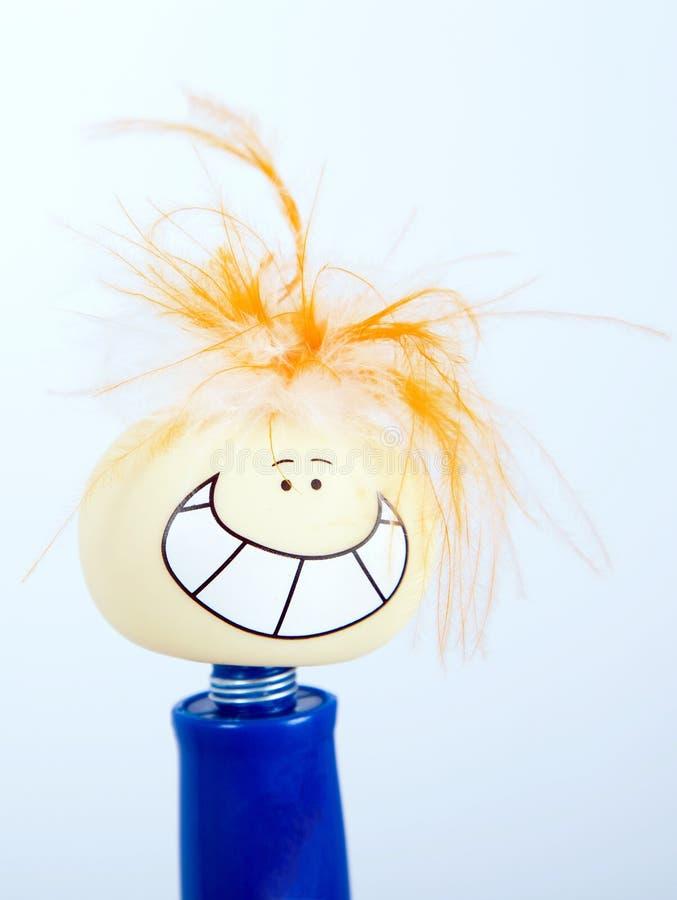 cara del juguete de la sonrisa, caras felices, sonrientes, divertidas fotos de archivo libres de regalías