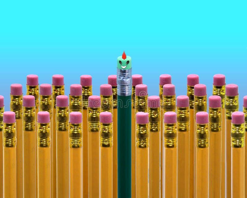 Cara del lápiz de la escuela libre illustration