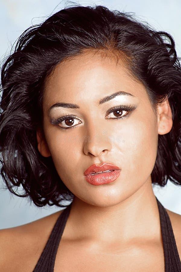 Cara del latino hermoso imagen de archivo