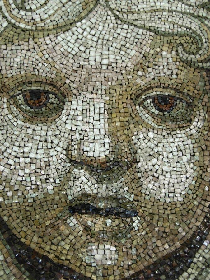 Cara del mosaico foto de archivo libre de regalías