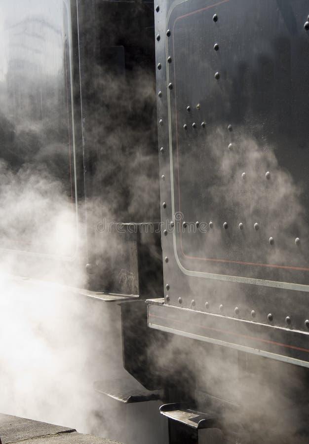 Cara del motor de vapor fotografía de archivo libre de regalías