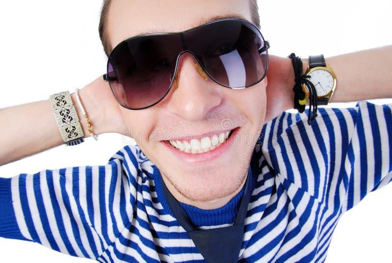 Cara Del Primer Con Sonrisa Dentuda Imágenes de archivo libres de regalías