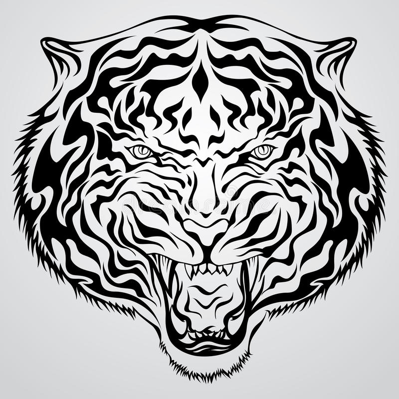 Cara del tigre libre illustration