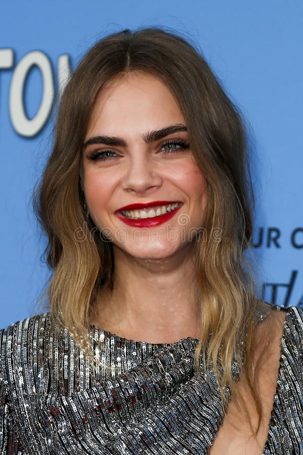 Cara Delevingne fotos de stock royalty free