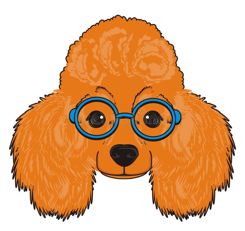 Cara do cão ilustração do vetor