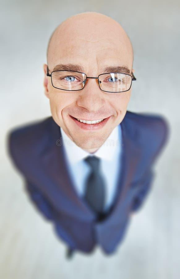 Cara do homem de negócios foto de stock