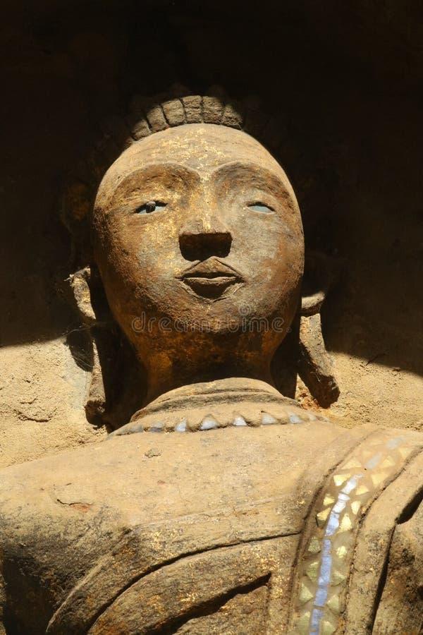 Cara em um templo Tailândia imagem de stock