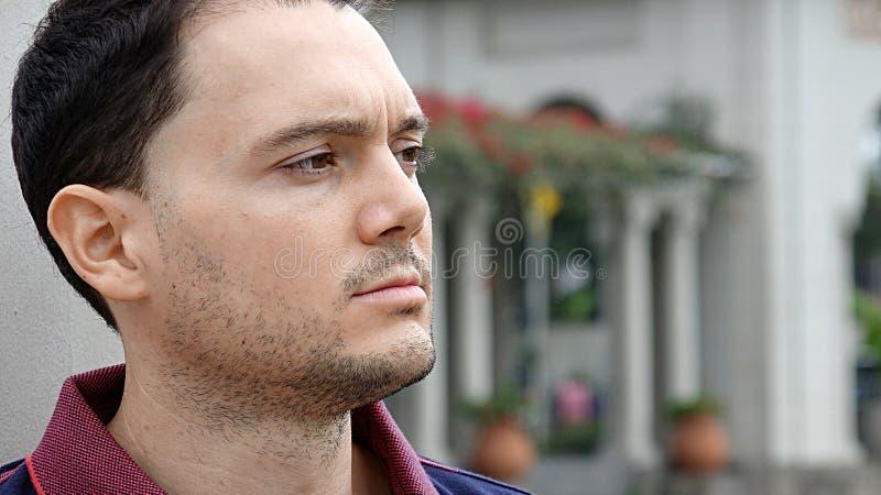 Cara masculina hermosa fotografía de archivo libre de regalías