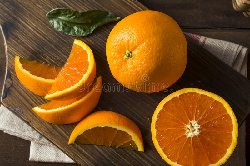 Cara Oranges orgânica crua fotos de stock royalty free