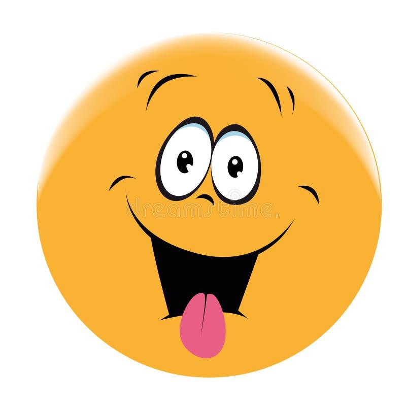 Cara sonriente ilustración del vector