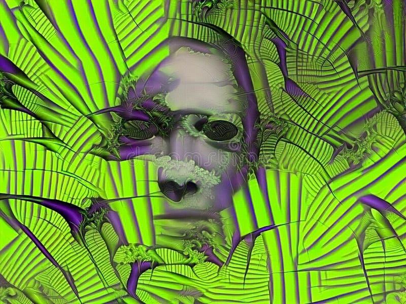 Cara surrealista libre illustration