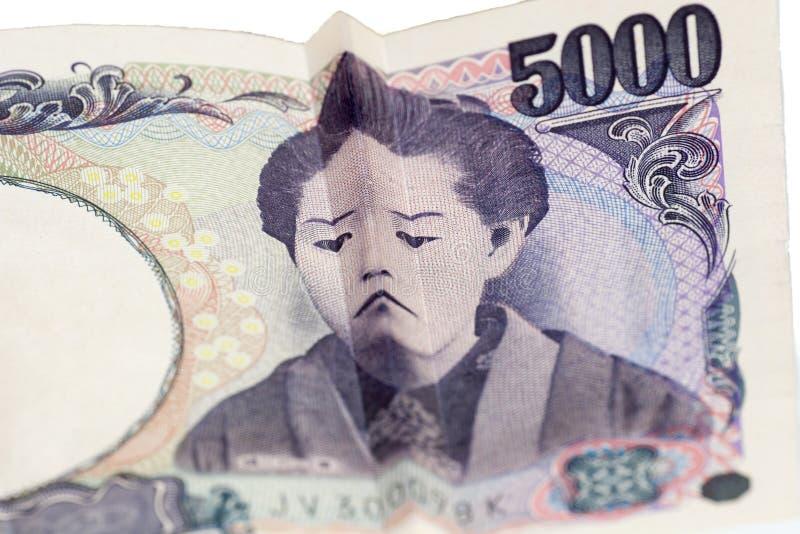 Download Cara Triste En Cuenta Japonesa Imagen de archivo - Imagen de cierre, divertido: 64210777