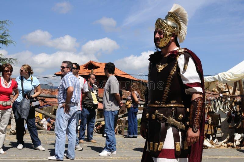 CARABANZO Festival .Asturias. SPAIN royalty free stock photo