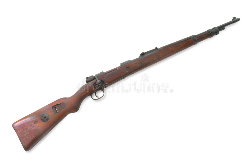 Carabine alemão (rifle curto) (Mauser Gewehr 98) foto de stock
